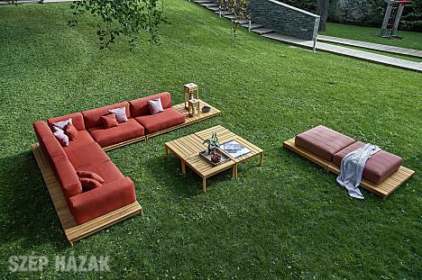 Nagyon szép és praktikus kerti asztal.